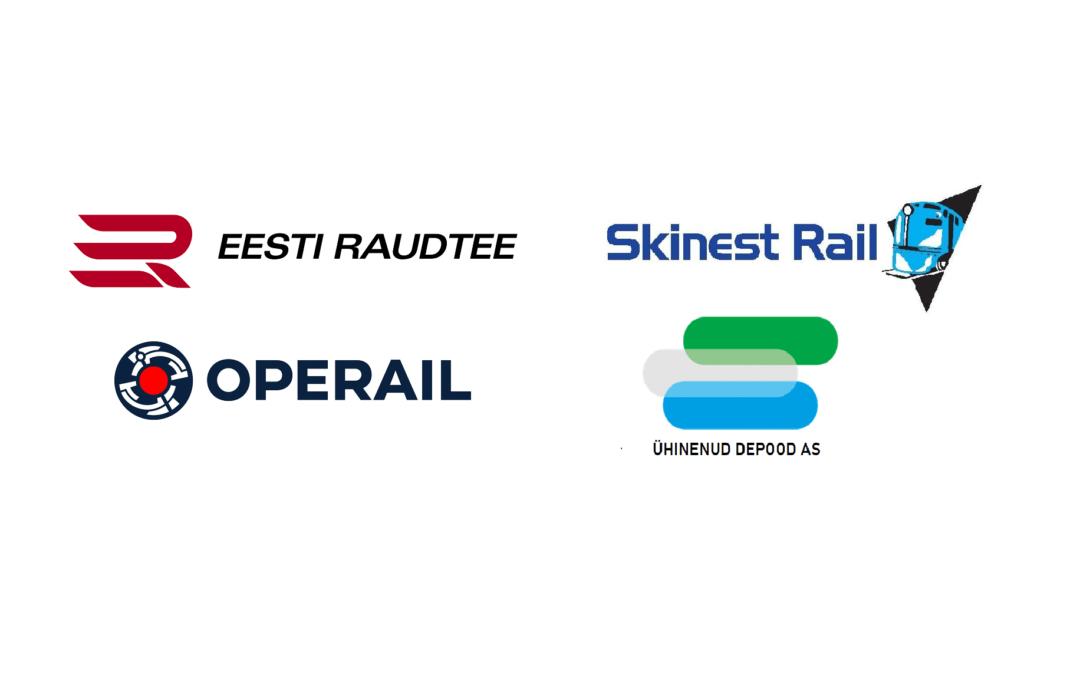 Raudteefirmad kes on 2021. aastal toetanud muuseumi tegevust.