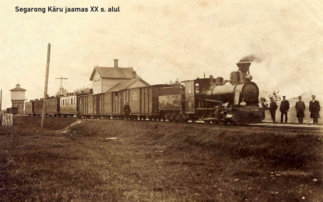 120. a. rongiliikluse avamisest Viljandi ja Tallinna vahel. Juubeli tähistamiseks aurupäevad 14. – 15. augustil 2021